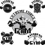 Vector set: gym — Stock Vector #40017875