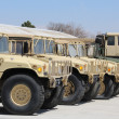 Stock Photo: Military Vehicles