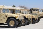 Military Vehicles — Stock Photo
