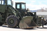 Military Frontloader — Stock Photo