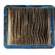 Top View Of Dirty Air Filter - Stock Photo
