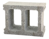 Gray Cinder Block — Stock Photo