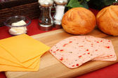 Sandwich Ingredients — Foto de Stock