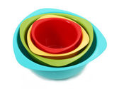 Colorful Mixing Bowls — Stock Photo