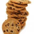 Stock Photo: Stack Of Chocolate Chip Cookies