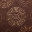 Circle Pattern Fabric — Stock Photo