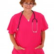 Nurse Standing With Glasses — Stock Photo #23120968