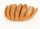 Sliced Dinner Bread — Stock Photo
