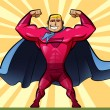 Stock Photo: Super hero