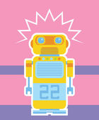 Robot — Stock Vector