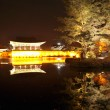 Night in Anapji pond, Gyeongju, South Korea — Stock Photo #23125098