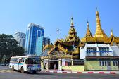 缅甸缅甸仰光街 — 图库照片