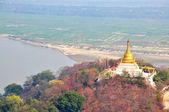 Pagoda on Sagaing hill, Myanmar (Burma) — Foto Stock
