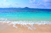 Pure sea in Udo island, South Korea — Stock Photo