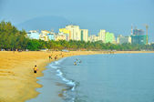 Nha Trang beach in the morning — Stock Photo
