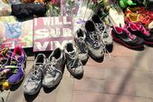 Boston Marathon bombing memorial — Stock Photo