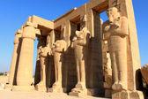 świątynia ramesseum, egipt — Zdjęcie stockowe
