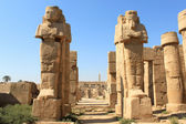 Statues in Karnak Temple, Egypt — Stock Photo