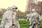 Memorial de la guerra de corea, mall de washington, washington dc — Foto de Stock