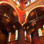 Inside Trinity Church, Boston — Stock Photo