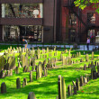 Granary Burying Ground — Stock Photo