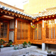 Korean traditional house — Stock Photo