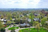 вид с воздуха на вашингтон, округ колумбия, сша — Стоковое фото