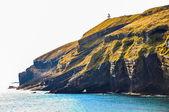 Acantilado rocoso en la isla de udo, corea — Foto de Stock
