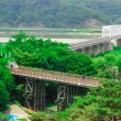 Постер, плакат: Freedom bridge DMZ Korea