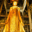Buddha statue at the Mandalay Hill, Myanmar — Stock Photo