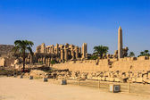 Karnak temple, Luxor city, Egypt — Stock Photo