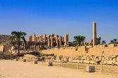Karnak temple, Luxor city, Egypt — Stock Photo