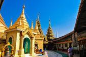 Pagode Sule em yangon, Mianmar — Fotografia Stock