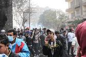 Massive demonstration,Cairo, Egypt — Stock Photo