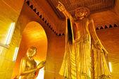 Buddha statue at the Mandalay Hill, Myanmar — Stock Photo