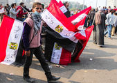 Massive demonstration,Cairo, Egypt — Stock Photo