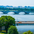 Washington DC by the Potomac river — Stock Photo