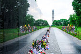 Vietnam Veterans Memorial on Memorial Day, USA — Stock Photo