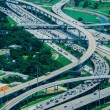 A high view of Houston highways — Stock Photo #27444019