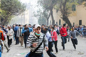 Massive protest in Cairo, Egypt — Stock Photo
