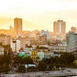 Havana (Habana) in sunset — Stock Photo #42444207
