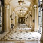 Luxury classic colonnade corridor — Stock Photo #22824100