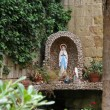 Stock Photo: Sculpture of holy mother mary in an alcove