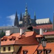 Stock Photo: Cathedral of saint Vitus in Prague