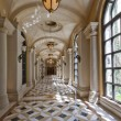 Luxury classic colonnade corridor - Stock Photo