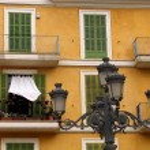 Inhabited balcony — Stock Photo #23878493