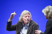 FRANKFURT, GERMANY - MAY 17: Richard Branson, Founder and Presid — Stock Photo