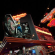 The Harley-Davidson Cafe located on the Las Vegas Strip and Harmon Road near the Planet Hollywood Resort - Stock Photo