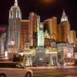 Stock Photo: New York-New York Hotel in Las Vegas