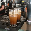 Two pints of beer served at The Guinness Brewery — Stock Photo